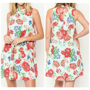 Everly Kira Floral Spring Dress Size S